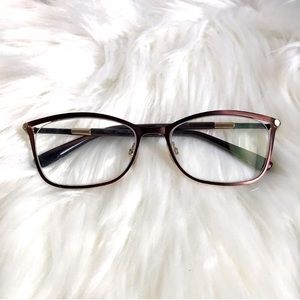Authentic Jimmy Choo bronze eyeglasses